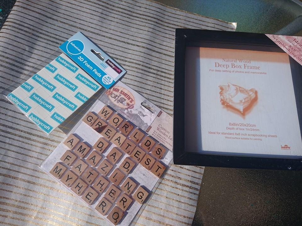 Tile frame crafts
