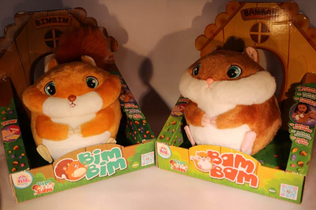 Bim Bim and Bam Bam in Box