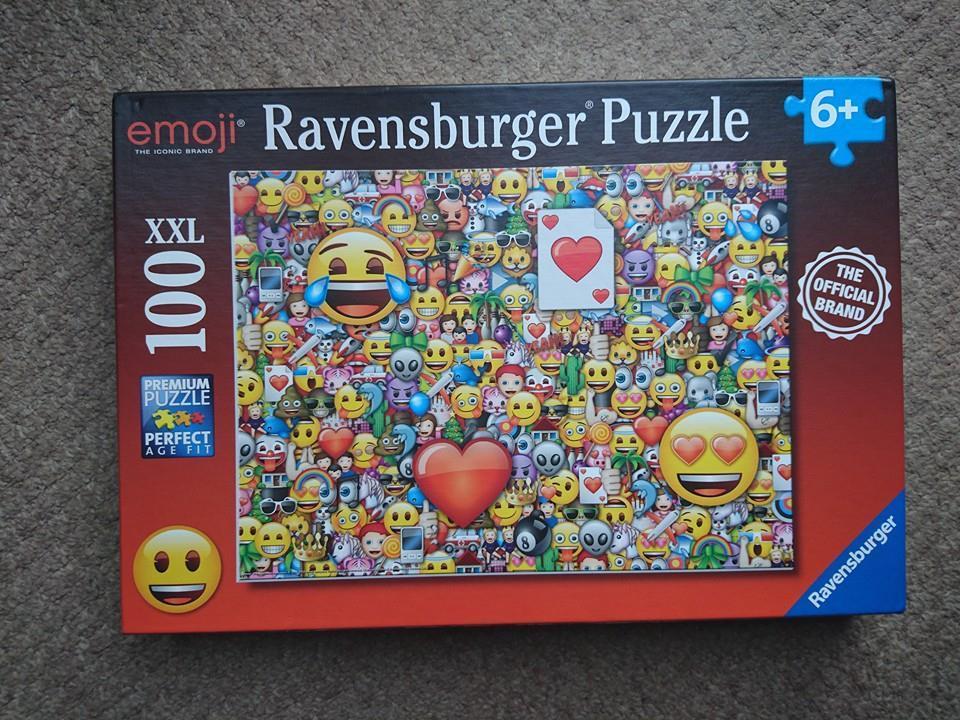 Emoji puzzle box