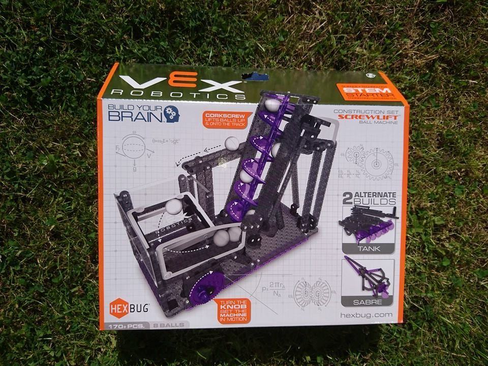 VEX Robotics Construction Set Screw lift ball machine by Hexbug