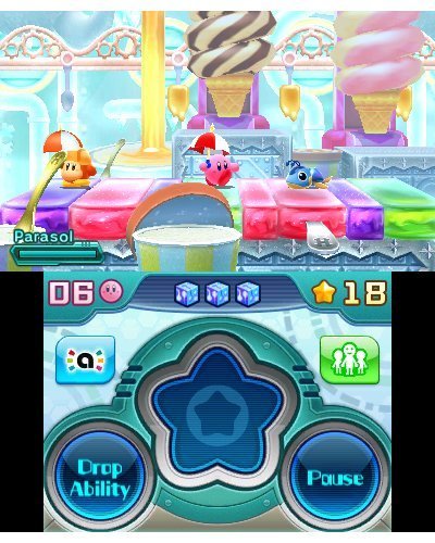 kirby game play