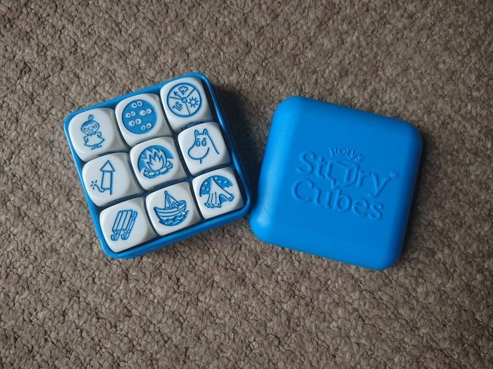 moomin Rory's Story Cubes in a box