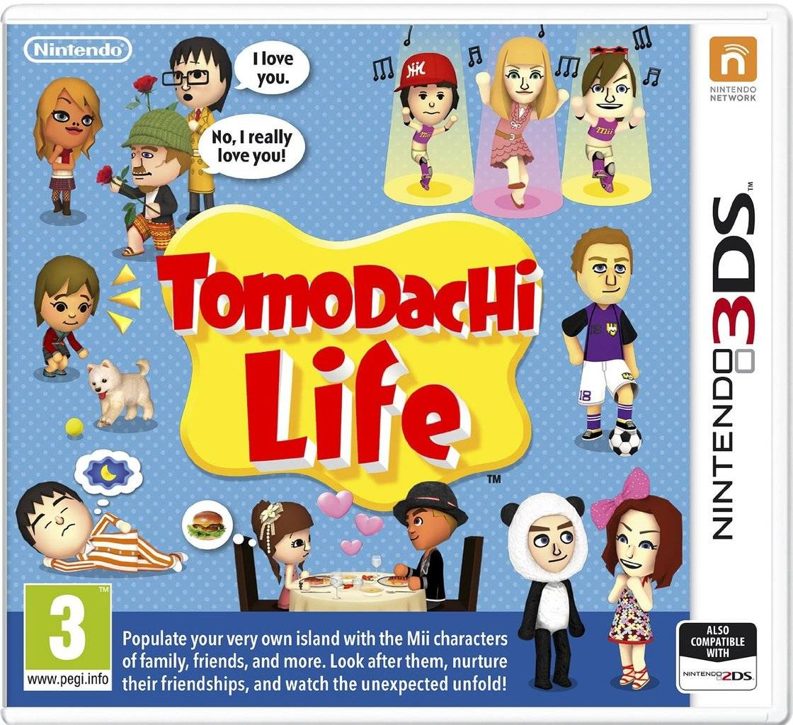 tomodachi life ds