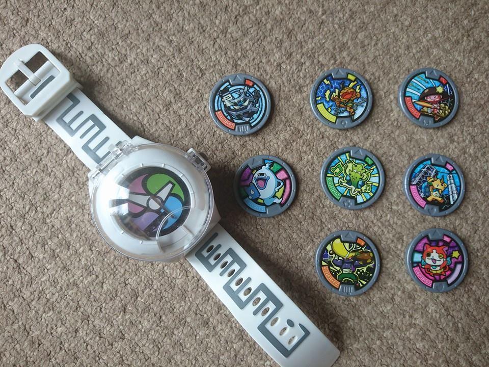 yo-kai watch medals