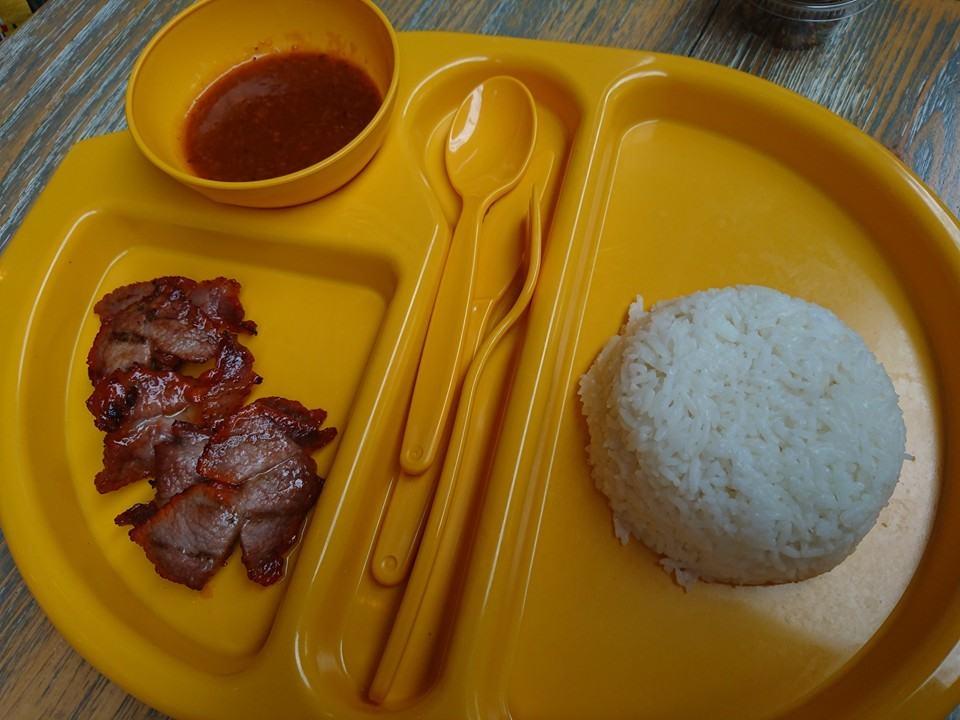 kids pork and rice