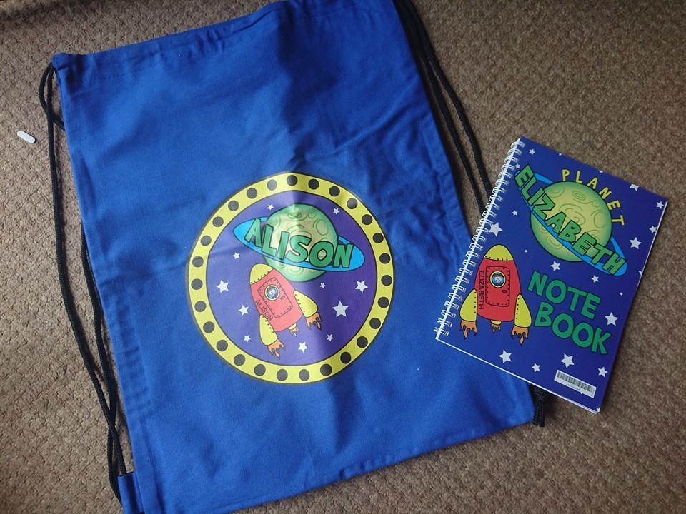 back to school personalised
