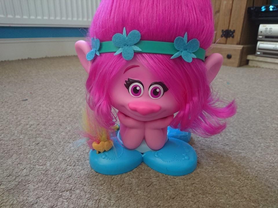 troll poppy styling head