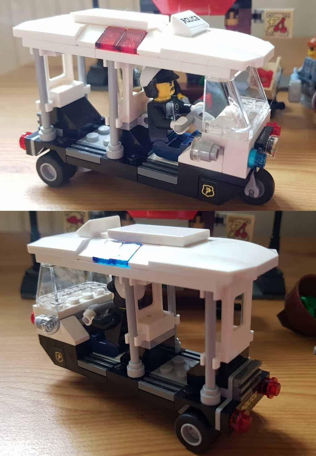 LEGO Ninjago Movie Green Ninja Mech Dragon and Ninjago City